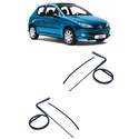 Guarnição Canaleta Peugeot 206 2 Portas