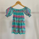 Vestido Infantil Lastex Tie Dye Vibes
