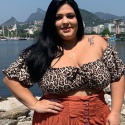 Cropped Bia Plus Size Onça Off