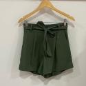 Shorts Alana Verde Miltar