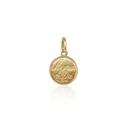 Pingente Agnus dei mini em ouro 18k