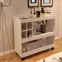 Aparador Bar Com Adega 4050 Pérola - Bechara Móveis