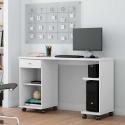 Mesa Para Computador Million Branca - Patrimar Móveis