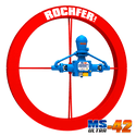 Bomba ROCHFER ULTRA-42 + Roda D'água 1,65 x 0,13 m