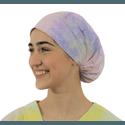 Touca de elástico - Tie Dye Colors Azul