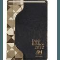 Diário Bíblico 2022 - Luxo -Marrom