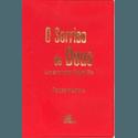 Livro : O sorriso de Deus - Um Ano com Padre Pio Capa Vermelha