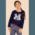 Pijama Menina Pets Xadrez