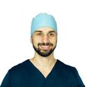 Bandana Cirúrgica Azul Claro