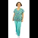 Pijama Cirúrgico Feminino - Gueixa D5