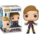 Avengers Endgame - Captain Marvel (Capitã Marvel) New Hair #576 Funko Pop