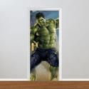 Adesivo para Porta - Hulk