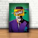 Placa Decorativa - Coringa Bang!