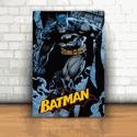 Placa Decorativa - Batman Azul
