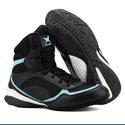 Bota de Treino Musculação Mr Gutt Cano Curto Preto e Azul