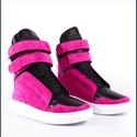 Tênis Bota Treino Sneaker Feminino Fitness Rosa Pink