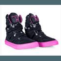 Tênis Bota Treino Sneaker Feminino Fitness Academia Verniz