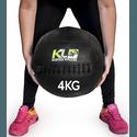 Wall Ball Couro Crossfit Funcional Medicine Ball 4 Kg 10 Lb