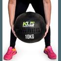 Wall Ball Couro Crossfit Funcional Medicine Ball 10 Kg