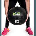Wall Ball Couro Crossfit Funcional Medicine Ball 8 Kg