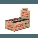 BARRA DE NUTS CRANBERRY & CHOCOLATE - CAIXA COM 20 UN DE 35G