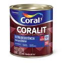 CORALIT ULTRA RESISTENTE ESMALTE FOSCO PRETO 225ML