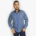 Camisa Manga Longa Radade Azul