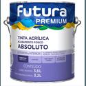 TINTA ACRÍLICA FOSCO ABSOLUTO PREMIUM 3,6L FUTURA