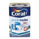 TINTA ACRÍLICA FOSCO CORAL RENDE MUITO TODAS AS CORES 18L