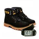 Bota Caterpillar Second Shift Boot + Cinto Couro - Preta