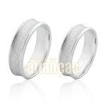 Aliança em Prata 0,950 k Diamantada