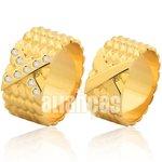 Alianças de Noivado e Casamento em Ouro Amarelo 18k 0,750 FA-1005