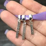 Pingente Berloque em Prata 925 Personalizado Plaquinha