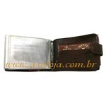 Carteira Mitty Porta Cheque Marron - K20FR - ASP-CA-760