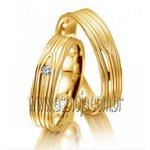 Aliança Pure Elegancia ouro amarelo 18K 750 de casamento ou noivado largura 5,0mm-ASP-AL-19