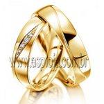 Aliança Phantastics gap ouro amarelo 18K 750 de casamento ou noivado largura 5,0mm-ASP-AL-20
