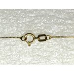 CO-07-Corrente de Ouro 18k Veneziana 0,9mm-50,0cm-1,75g