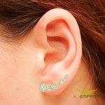 EAR CUFF DE ZIRCONIA ZC GL