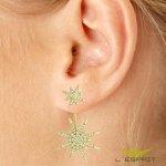 EAR JACKET DE ZIRCONIA GL