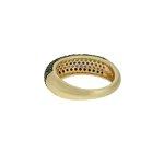 Anel Zirconia Lesprit U18K110151 Dourado Multicor