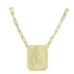 Colar Metal Lesprit ESSTF31701 Dourado