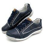 Sapatos Casual Porshe Bmbrasil 114/03 Azul