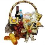 Cesta Pão e Vinho