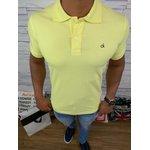 Polo Calvin Klein - Amarela Claro