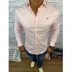 Camisa Manga Longa Tommy - ROSA