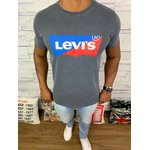 Camiseta Levis - Cinza