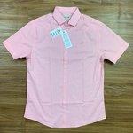 Camisa Social Lacoste - Manga curta Rosa