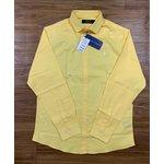Camisa Ralph Lauren - Manga Longa Amarela