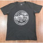 Camiseta Cavalera - Cinza Escuro