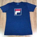 Camiseta Fila Azul Marinho